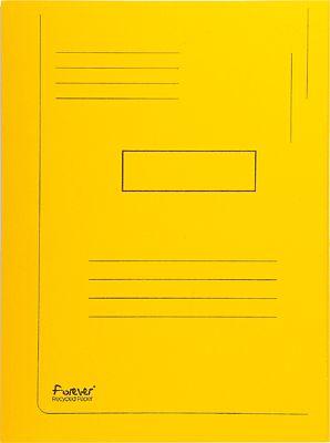 Sammelmappe-Karton-Gelb