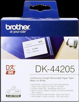 Brother Endlosetikett DK-44205 wiederablösbar Weiss