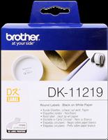 Brother Runde Etiketten Papier DK-11219