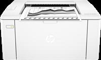 Laserdrucker Schwarz Weiß HP LaserJet Pro M102w
