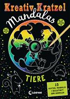 Malbuch Kreativ-Kratzel Mandalas Loewe 0071-5