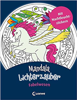 Malbuch Mandala-Lichtzauber Loewe 9523-7