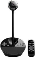 Logitech BCC950 Videokonferenz-Webcam mit Freisprecheinrichtung, HD