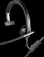 Logitech Headset Mono H650e Schwarz