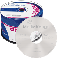 MediaRange CD-R Rohlinge 700MB 80min