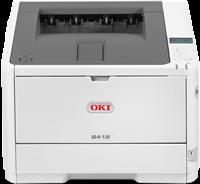 Laserdrucker Schwarz Weiss OKI B412dn