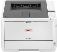 S/W Laserdrucker OKI B412dn