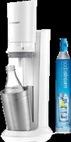 Sodastream Sparkling water Crystal Premium  Weiss