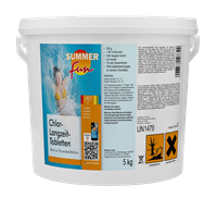 Chlor-Langzeit-Tabletten 5 kg Summer Fun 0505705SF