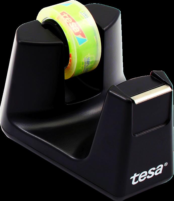 Tischabroller schwarz Tesa 53904-00000-00