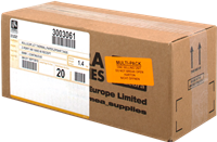Thermopapier Zebra 3003061 20PCK