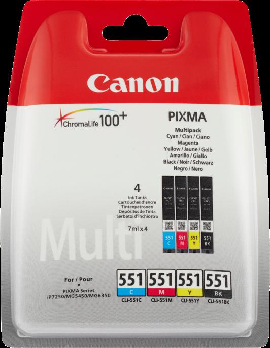 Multipack Canon CLI-551 cmybk multi