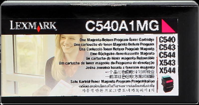 Toner Lexmark C540A1MG